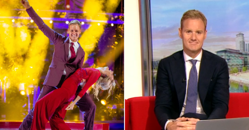 BBC Breakfast's Dan Walker reveals daughter's reaction to Strictly Come Dancing debut is 'highlight of my entire life'