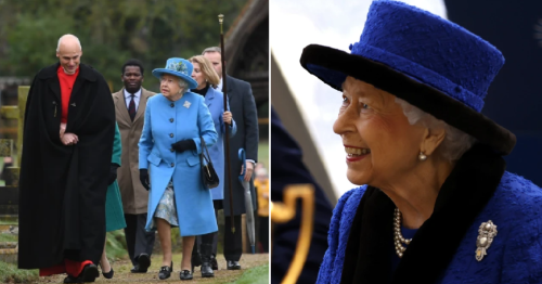 Queen 'misses church and is unlikely to be seen this week'