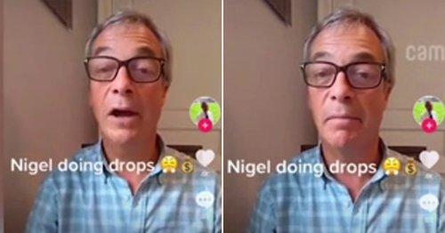Nigel Farage 'duped into advertising drug dealer's services' in video message