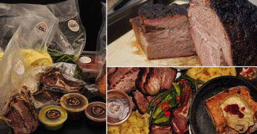 There's a new drive-thru barbecue restaurant opening in London this week
