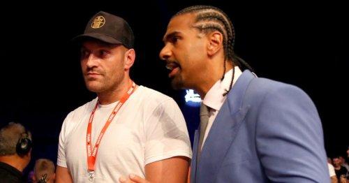Tyson Fury shouldn't underestimate 'absolute monster' Anthony Joshua, warns David Haye