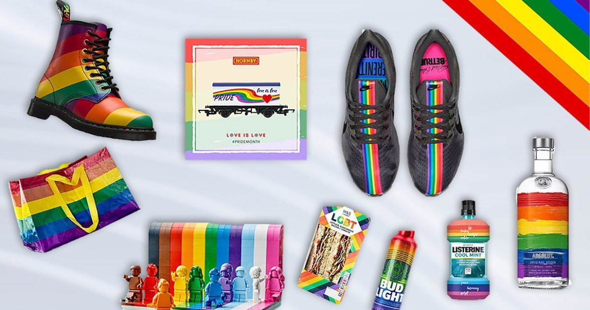 Brands, think twice before you slap a rainbow on your product