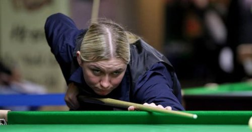 Rebecca Kenna: I wasn't intimidated to play snooker but you can see why girls are