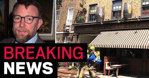 Guy Ritchie's London pub on fire as 70 firefighters tackle huge blaze