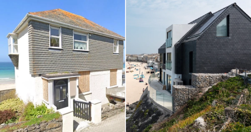Former council house transformed into holiday home you can rent for £7k a week