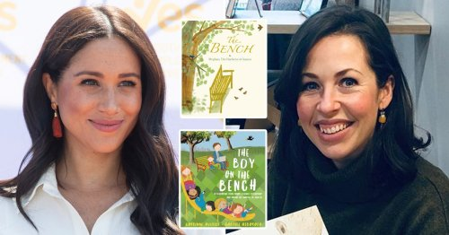 Author Meghan is accused of 'ripping off' sees 'no similarities' in their work