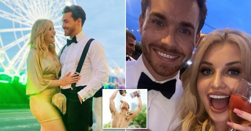 Love Island's Amy Hart chuffed as she reveals new romance with Aldi model: 'Only gone and got myself a boyfriend'