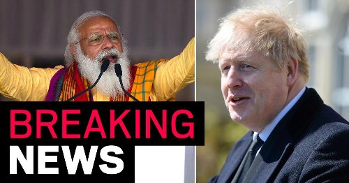 Boris cancels trip to India amid fears over 'double mutant' Covid
