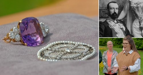 Antiques Roadshow guest reveals £13K jewels link to 'unusual' Russian royal family love affair