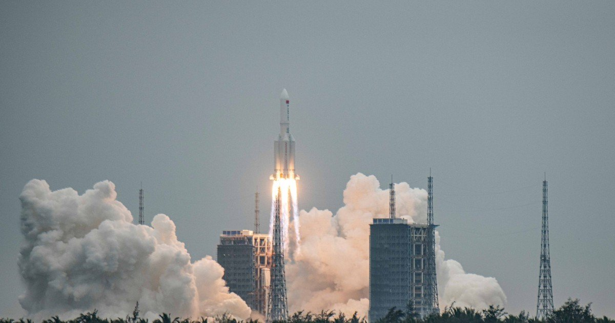 Out-of-control Chinese rocket falling to Earth could shower cities with debris