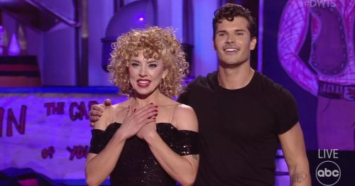 Dancing With The Stars: Mel C and Gleb Savchenko eliminated in shock exit during Grease Night