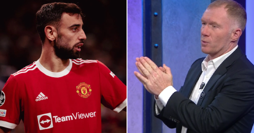 Paul Scholes tells Ole Gunnar Solskjaer to DROP Bruno Fernandes for Liverpool clash