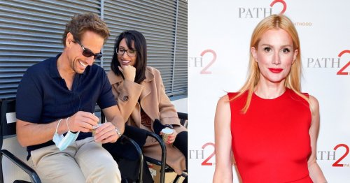 Ioan Gruffudd accused of 'cheating for three years' on ex-wife as he debuts new relationship with Aussie actress