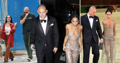 Channing Tatum and Zoe Kravitz's body language shows 'subtle signals of excitement' and 'sparks' of more than friendship, says expert