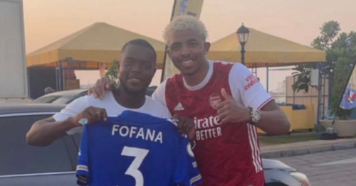 Leicester star Wesley Fofana speaks out after he's pictured wearing Arsenal shirt