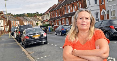 Family whose five cars won't fit on drive complain at paying for parking fees