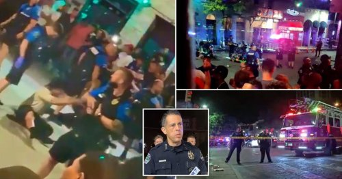 Manhunt launched after shooter opens fire on crowded nightlife street in Texas