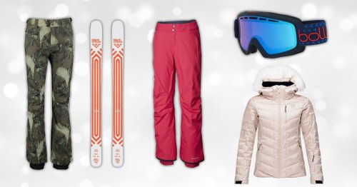 Get kitted out for the slopes with our pick of skiing essentials, from boots to goggles