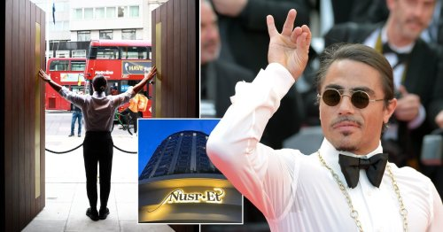 Salt Bae's London restaurant has launched – but people are stunned by the prices