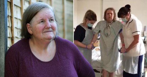 Wife of UK's longest Covid patient 'begged' him not to end treatment