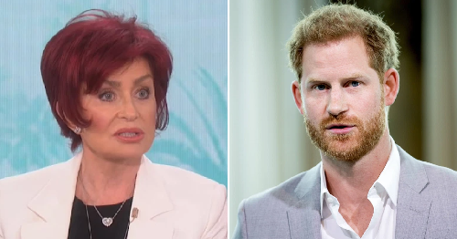 Sharon Osbourne brands Prince Harry 'poster boy of white privilege' after The Talk race-row exit