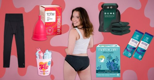 Best eco-friendly pads, tampons and pants for a more sustainable period
