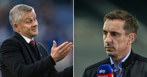 Gary Neville explains to Man Utd fans why he's not calling out Ole Gunnar Solskjaer