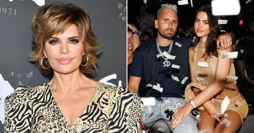 Lisa Rinna insists she 'tried really hard' to support Amelia Hamlin's relationship with Scott Disick despite shady comments