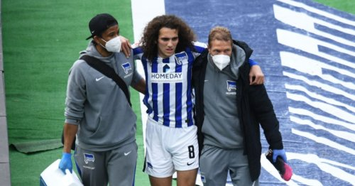 Hertha Berlin sporting director confirms Matteo Guendouzi is heading back to Arsenal after injury