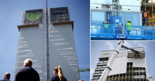 Three more years before all Grenfell-style cladding removed from buildings