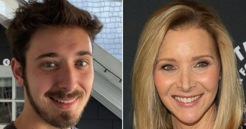 Friends star Lisa Kudrow shares a rare photo of lookalike son and fans can't believe resemblance