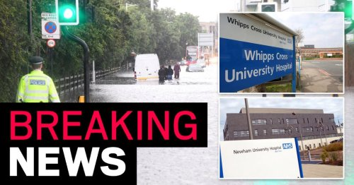 Hospital 'declares critical incident' as emergency department left underwater
