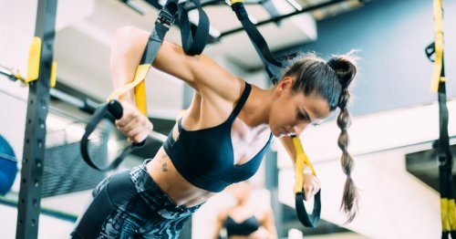 Try these simple TRX exercises for a full-body workout