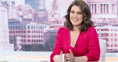 Where is Susanna Reid on Good Morning Britain today?