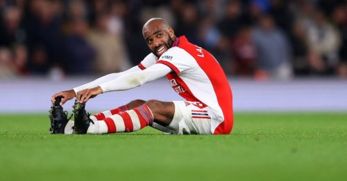 Mikel Arteta provides Alexandre Lacazette injury update after Arsenal star is forced off in Aston Villa win