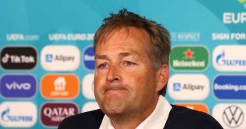 Denmark manager in tears in press conference after Christian Eriksen collapse