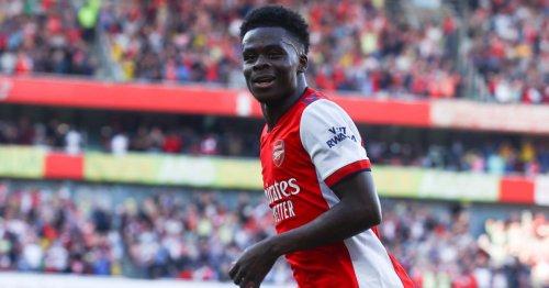 Bukayo Saka makes Arsenal trophies prediction after north London derby win