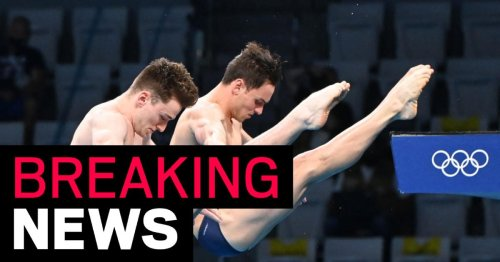 Tom Daley and Matty Lee win gold for Team GB in synchronised diving