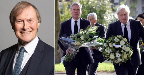 Opposition parties to 'stand aside' out of respect for Sir David Amess