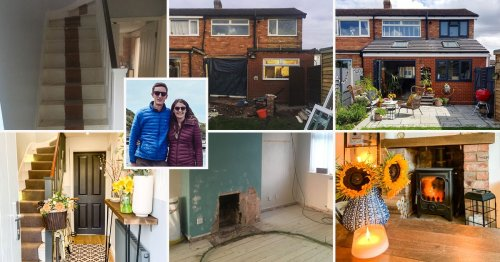 Couple renovate rundown house in favourite area to create dream home and increase value by £50,000