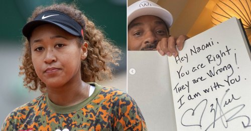 Will Smith shares handwritten note supporting Naomi Osaka after French Open withdrawal: 'I am with you'