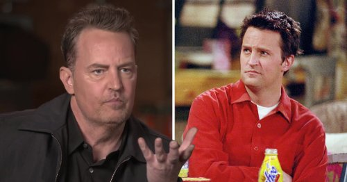 Matthew Perry's 'slurred' speech in Friends Reunion explained as Chandler Bing star was 'in pain' after 'emergency procedure' hours before filming
