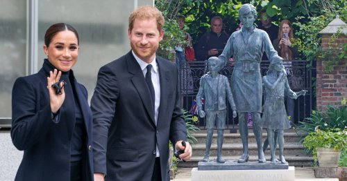 Harry and Megan could make surprise return to UK for Diana statue party