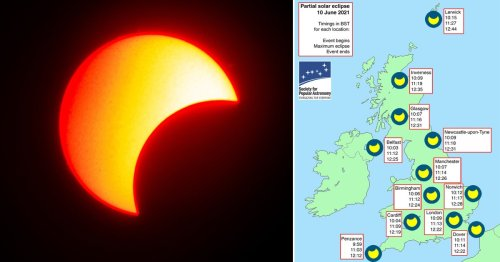 What time is the partial solar eclipse and how can I see it?
