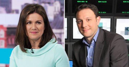 Susanna Reid pays tribute as former ITV News editor Geoff Hill dies at 52
