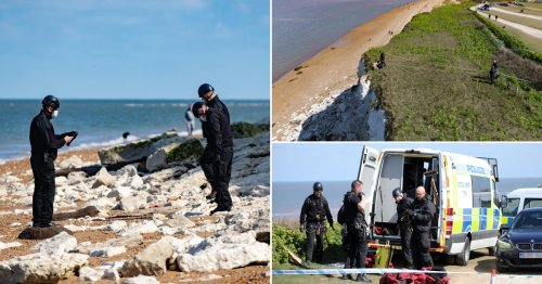 Man who fell from cliff arrested for murder of woman found dead 90 miles away
