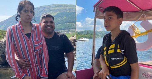 Dad tried to save wife and son, 9, as they drowned in Loch Lomond