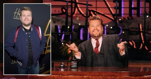 James Corden set to become UK's highest paid TV presenter after 'signing multi-million pound deal'