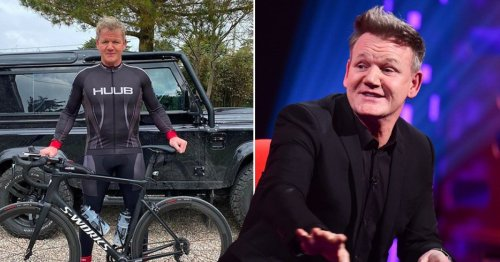 Gordon Ramsay told to 'slow down' by doctors after discovering arthritis in his knee