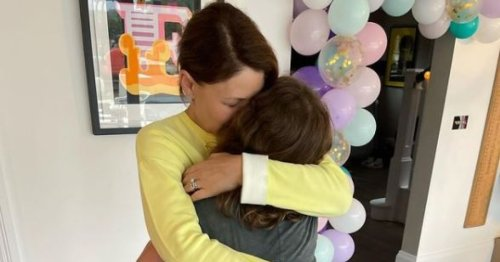 Emma Willis shares emotional tribute to daughter Isabelle as she shares glimpse of 12th birthday celebrations with Friends-themed cake